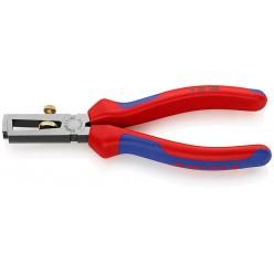 Інструмент для видалення ізоляції фосватований, чорного кольору 160 мм Knipex 11 02 160
