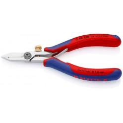 Ножиці-щипці для видалення ізоляції при роботі з електронними пристроями 140 мм Knipex 11 82 130