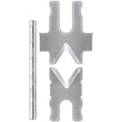 1 пара запасних ножів для 12 62 180 Knipex 12 69 21