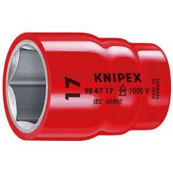"""Насадки (подвійний шестигранник) для торцевих ключів 61 мм Knipex 98 47 1"""""""