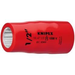 """Насадки (подвійний шестигранник) для торцевих ключів 55 мм Knipex 98 47 1/2"""""""