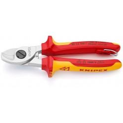 Ножиці для різання кабелів 165 мм Knipex 95 16 165 T BK