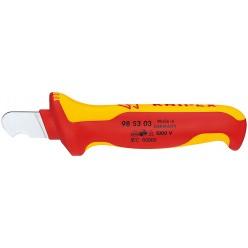 Ніж для видалення оболонки круглого кабелю 170 мм  Knipex 98 53 03