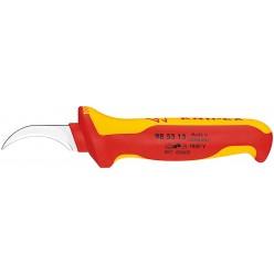 Ніж для видалення оболонки кабелю з секторними жилами 190 мм Knipex 98 53 13