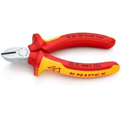 Кусачки бокові хромовані 125 мм Knipex 70 06 125