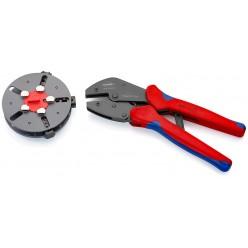 Кліщі обжимні зі змінними матрицями Knipex MultiCrimp® воронені 250 мм Knipex 97 33 01