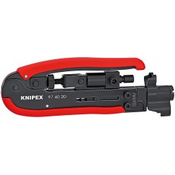 Компресійний інструмент 175 мм Knipex 97 40 20 SB