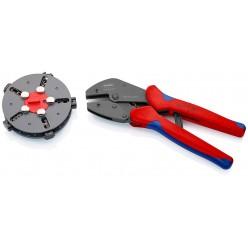 Кліщі обжимні зі змінними матрицями Knipex MultiCrimp® воронені 250 мм Knipex 97 33 02