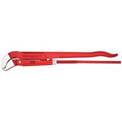 Кліщі трубні з s-подібним змиканням губок з червоним порошковим покриттям 680 мм Knipex 83 30 030