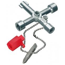Ключ для електрошаф 76 ммKnipex 00 11 03