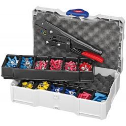 Набір кабельних наконечників для обпресовки, Knipex 97 90 00