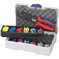 Набір кабельних наконечників для обпресовки, Knipex 97 90 25