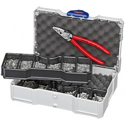 Набір кабельних наконечників для обпресовки, Knipex 97 90 05