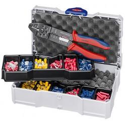 Набір кабельних наконечників для обпресовки, Knipex 97 90 26