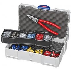 Набір кабельних наконечників для обпресовки, Knipex 97 90 06