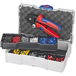 Набір кабельних наконечників для обпресовки, Knipex 97 90 09