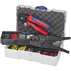 Набір кабельних наконечників для обпресовки, Knipex 97 90 10