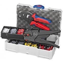 Набір кабельних наконечників для обпресовки, Knipex 97 90 12