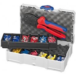 Набір кабельних наконечників для обпресовки, Knipex 97 90 21