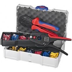 Набір кабельних наконечників для обпресовки, Knipex 97 90 22