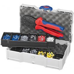 Набір кабельних наконечників для обпресовки, Knipex 97 90 23
