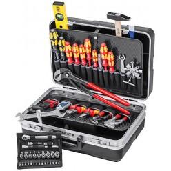 Валіза інструментальна, набір сантехніка, укомплектована Knipex 00 21 21 HK S