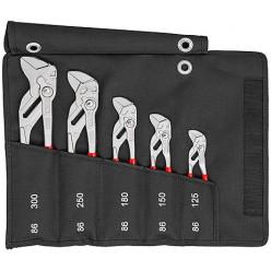 Набір переставних-гаєчних ключів, Knipex 00 19 55 S4