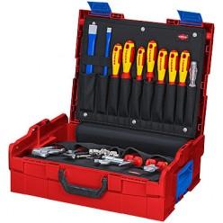 Набір інструментів для сантехніка l-boxx®, 52 предмета, Knipex 00 21 19 LB S