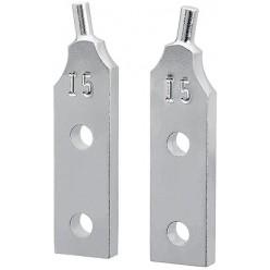 1 пара запасних наконечників для 44 10 j5 Knipex 44 19 J5