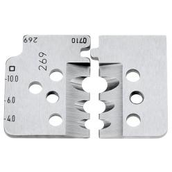 1 пара запасних ножів для 12 12 12 Knipex 12 19 12